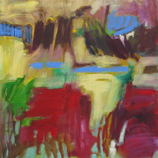 100 x 100 cm - Öl auf Leinwand - 2012