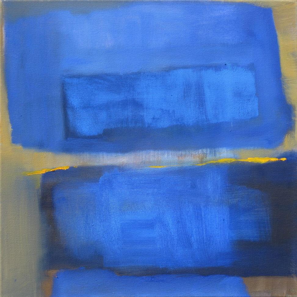 50 x 50 cm - Öl auf Leinwand