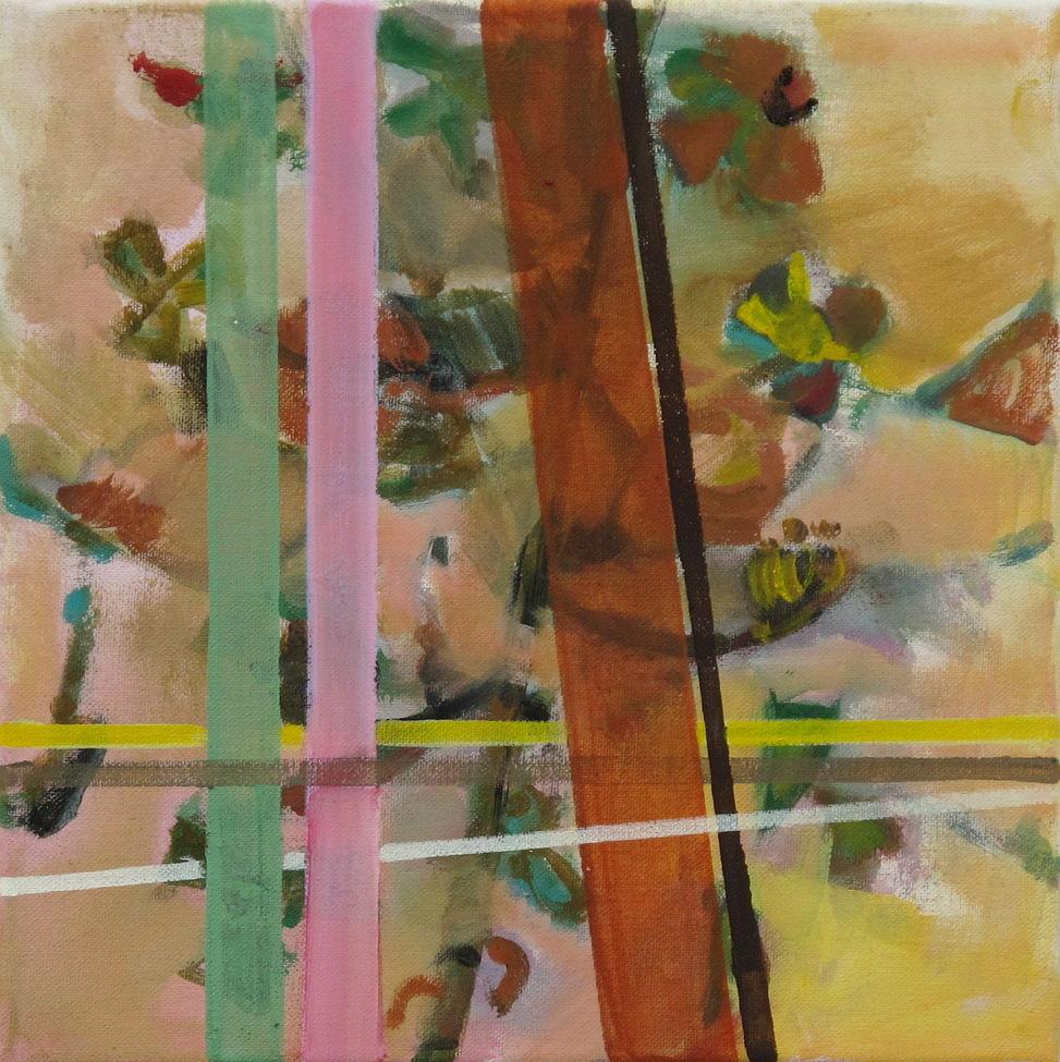 30 x 30 cm, Öl auf Leinwand, 2014, o. T.