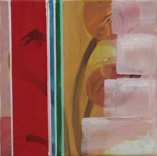 30 x 30 cm, Öl auf Leinwand, 2014; o.T.