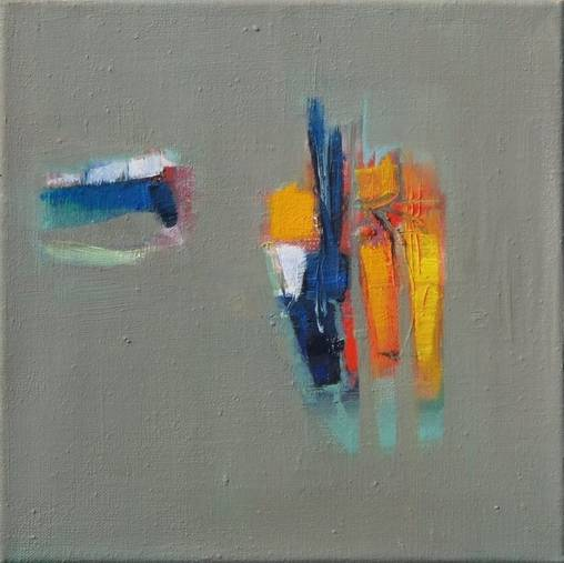 o.T. - 30 x 30 cm/Öl auf Leinwand - 2015