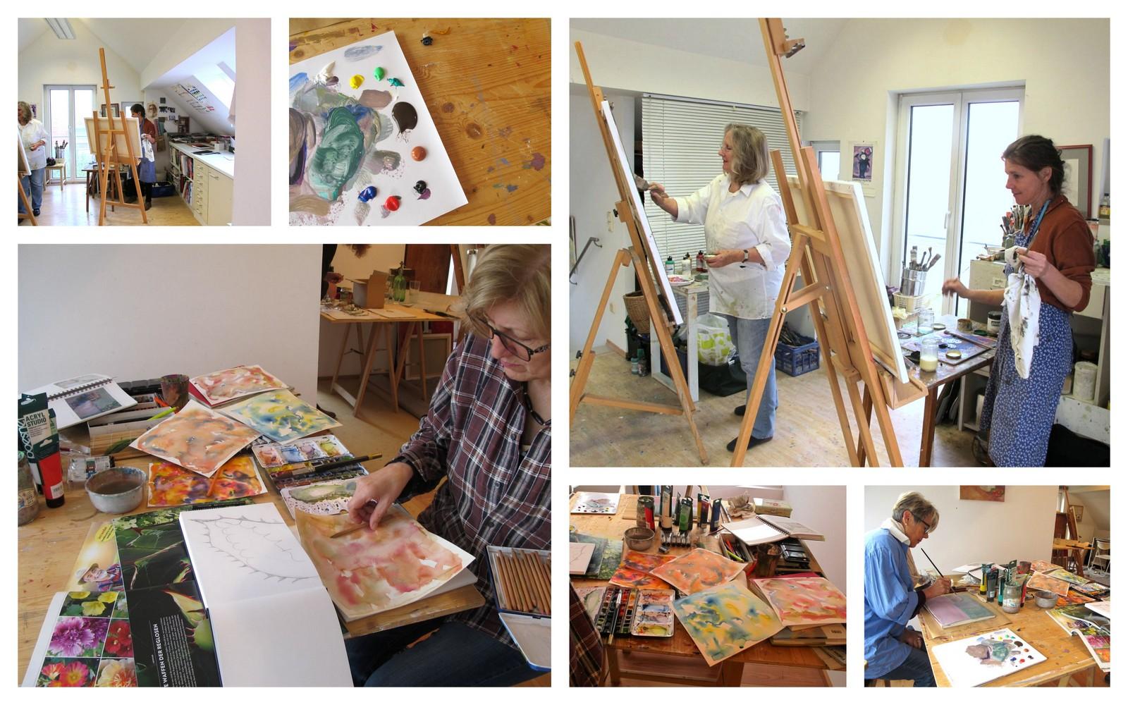 Ilse Renner - Malschule / Kurse für Erwachsene - Schondorf am Ammersee