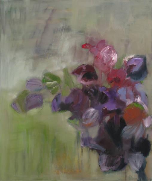 Natur I - 120 x 100 cm (2011)  - Öl auf Leinwand (Archiv Tom)
