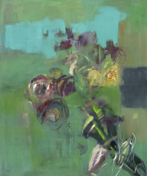 Natur II  (2011) - 120 x 100 cm - Öl auf Leinwand (Archiv Tom)