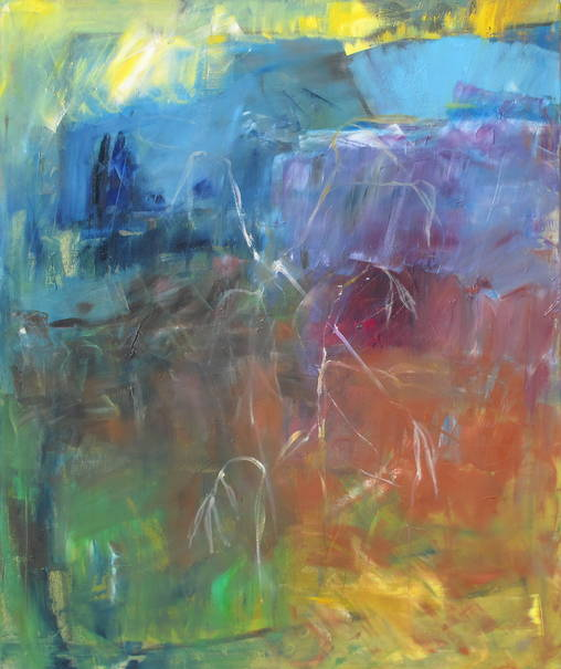o. T. - 100 x 120 cm/ Öl auf Leinwand - 2015