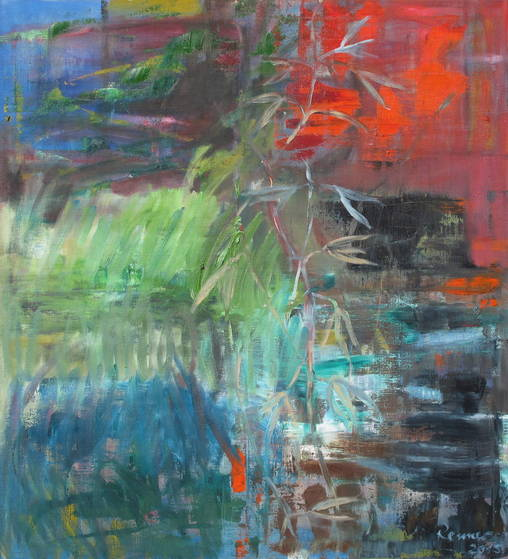 o. T. - 110 x 100 cm/ Öl auf Leinwand - 2015