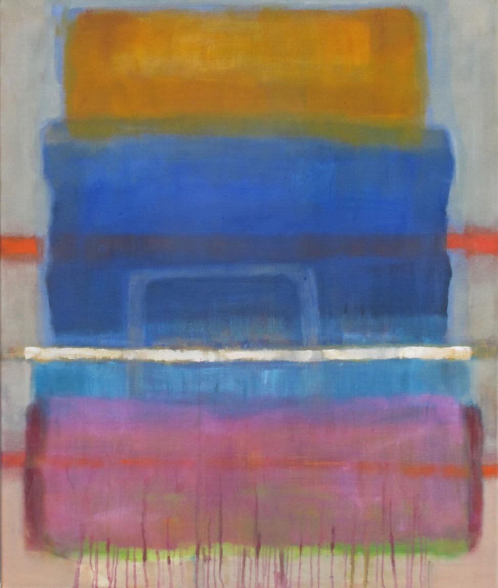 Salute to Rothko (Yvonne Badal) - 95 x 80 cm/ Öl a. LW - 2015