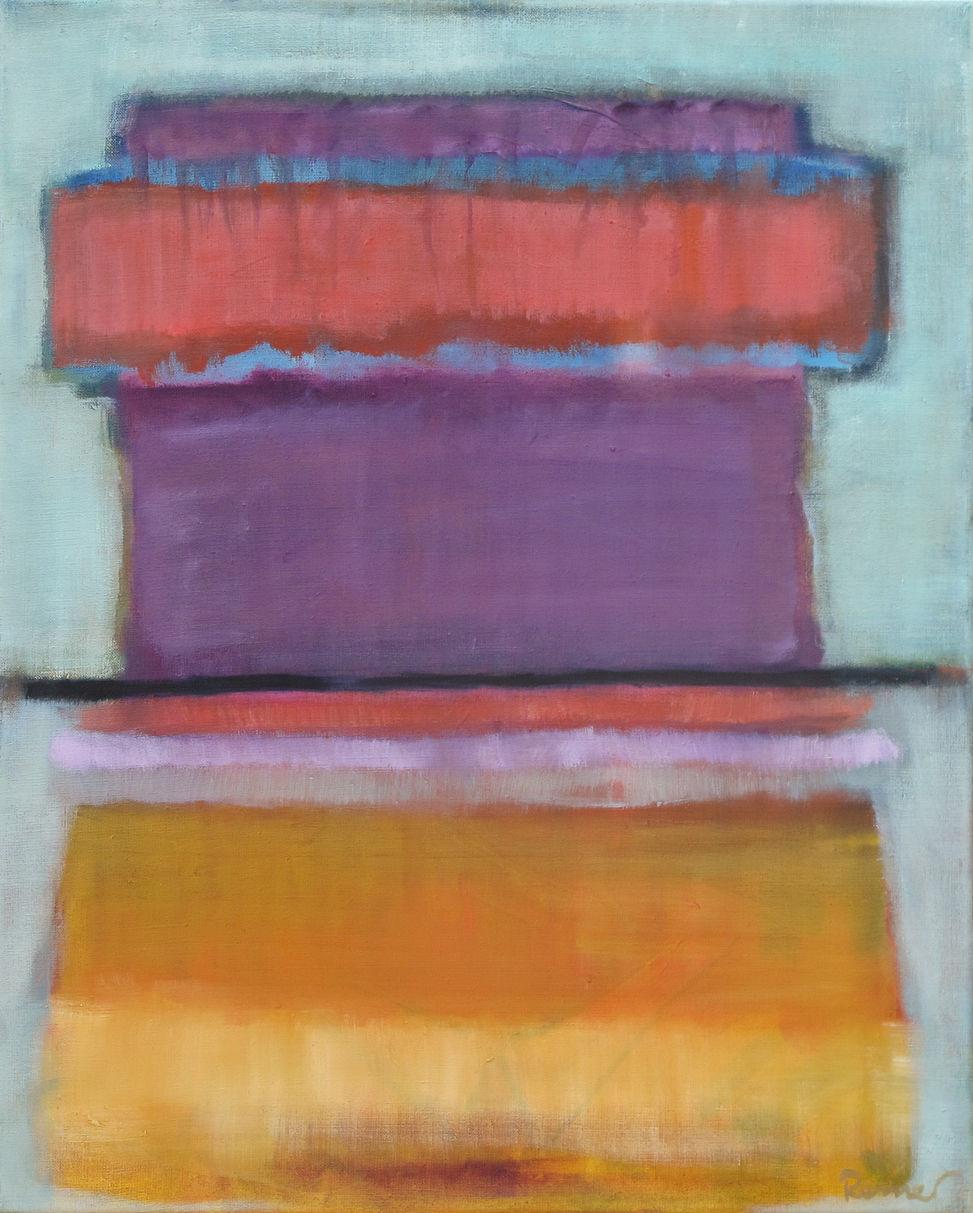 Farbecht - 75 x 60 cm / Öl auf Leinwand - 2015